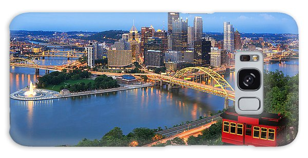Center Galaxy Case -  Pittsburgh Summer  by Emmanuel Panagiotakis