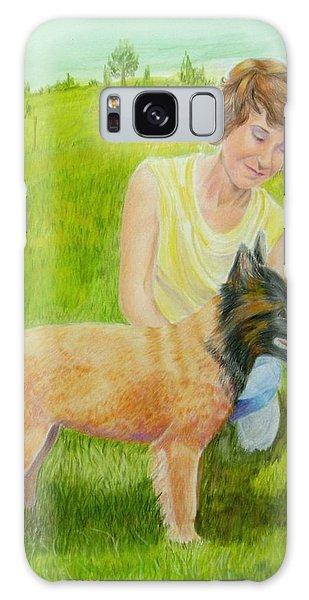 New Puppy Show Dawg Galaxy Case by Ruth Seal