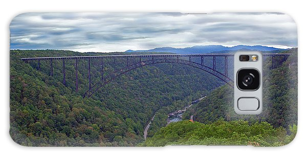 New River Bridge Galaxy Case by Aimee L Maher Photography and Art Visit ALMGallerydotcom