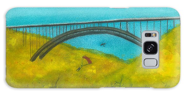 New River Gorge Bridge On Bridge Day Galaxy Case