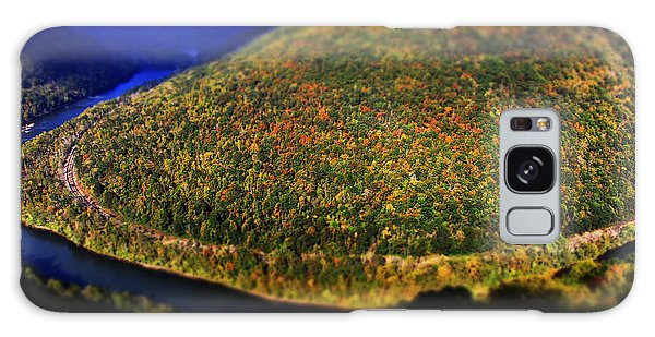 New River Gorge Galaxy Case by Melissa Petrey