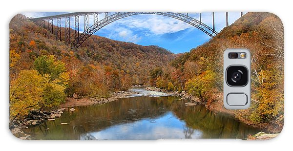 New River Gorge Reflections Galaxy Case