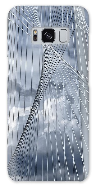 Galaxy Case featuring the photograph New Skyline Bridge by Joan Carroll