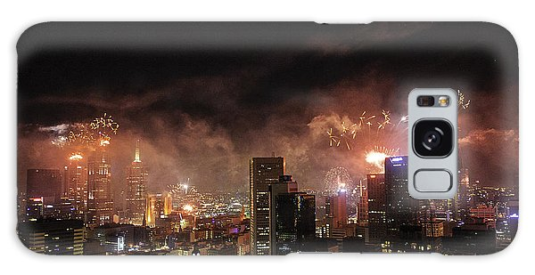 New Year Fireworks Galaxy Case