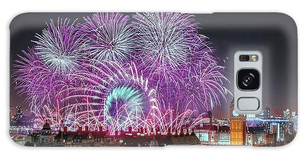 New Year Fireworks Galaxy Case