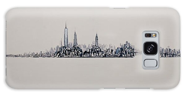 New York City 2013 Skyline 20x60 Galaxy Case