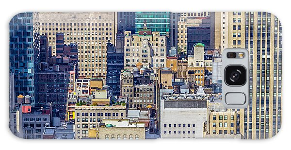 New York City Buildings Abstract Galaxy Case