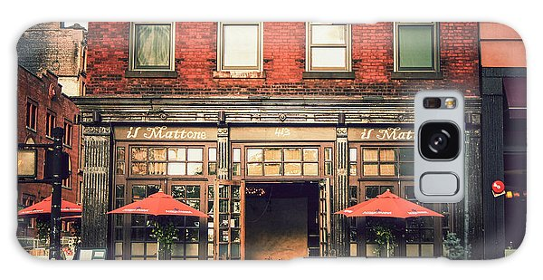 Street Cafe Galaxy Case - New York City - Cafe In Tribeca by Vivienne Gucwa