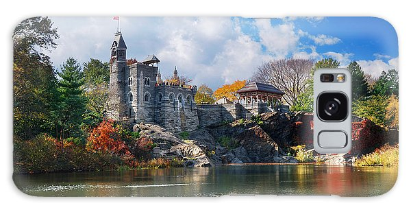New York City Central Park Belvedere Castle Galaxy Case