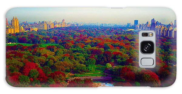 New York City Central Park South Galaxy Case