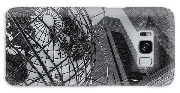 New York City Columbus Circle Landmarks II Galaxy Case