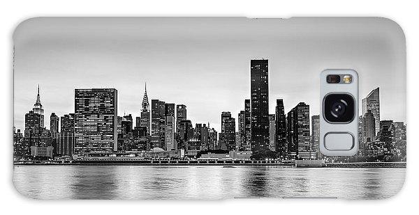 New York City Dusk Colors Bw Galaxy Case
