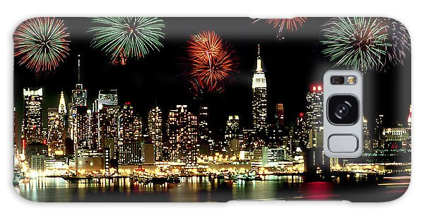 New York City Fourth Of July Galaxy Case
