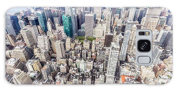 New York City From The Empire State Building Galaxy Case