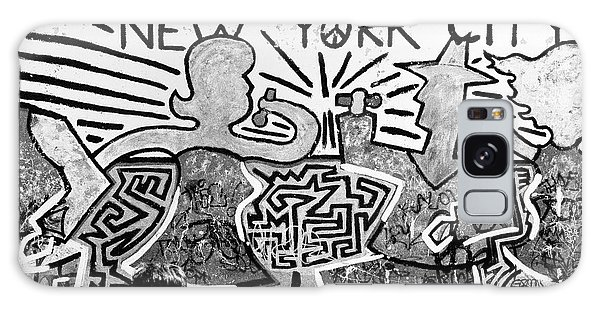 New York City Graffiti Galaxy Case by Dave Beckerman