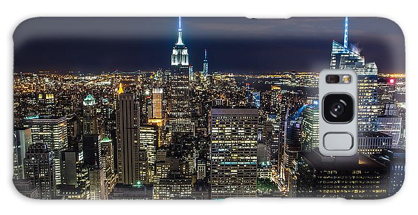 New York City Galaxy Case by Larry Marshall