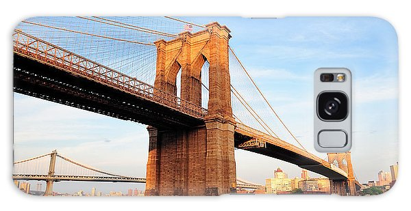 New York City Manhattan Brooklyn Bridge Galaxy Case
