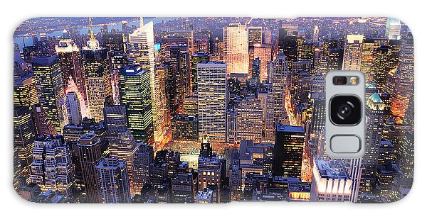 New York City Manhattan Times Square Night Galaxy Case