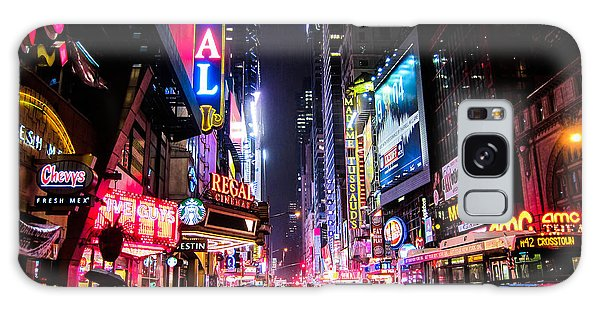 Neon Galaxy Case - New York City Night by Nicklas Gustafsson