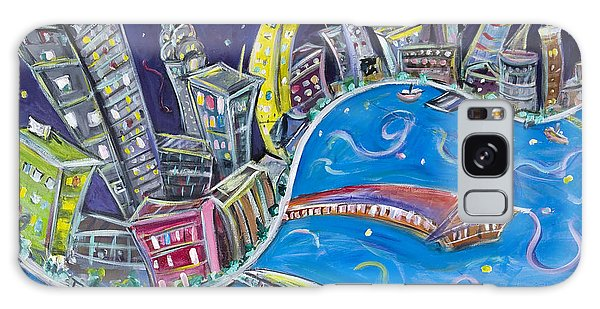 New York City Nights Galaxy Case by Jason Gluskin