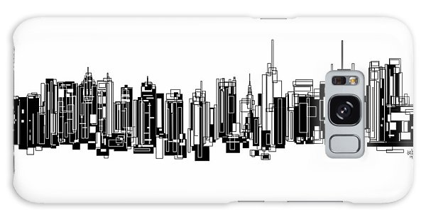 New York City Galaxy Case by Sheep McTavish