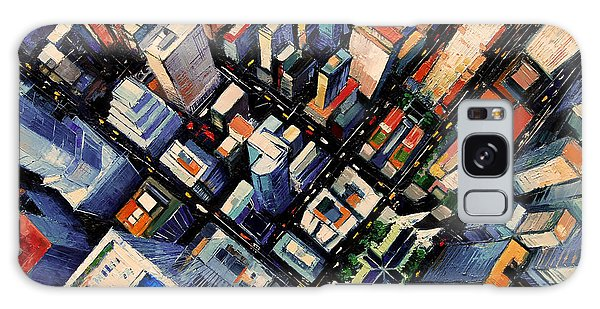 New York City Sky View Galaxy Case