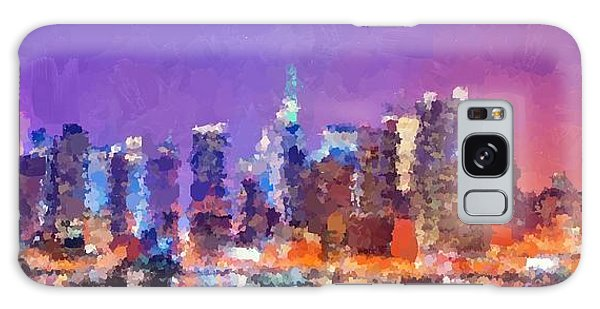 New York City - Skyline 0 Galaxy Case