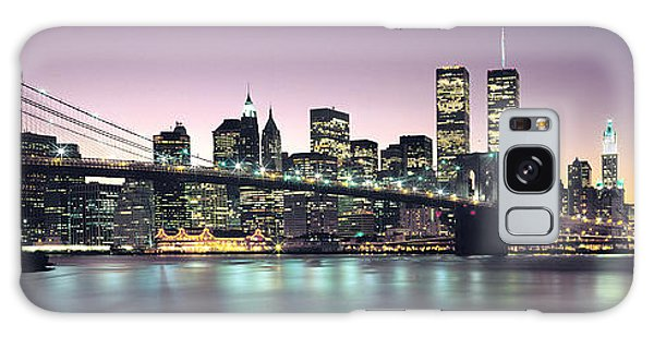 New York City Skyline Galaxy Case by Jon Neidert
