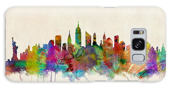 Place Galaxy Case - New York City Skyline by Michael Tompsett
