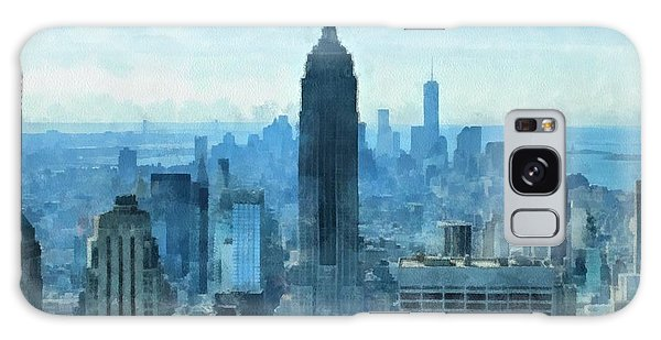 The Sky Galaxy Case - New York City Skyline Summer Day by Dan Sproul