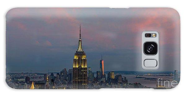 New York City Sunset Galaxy Case
