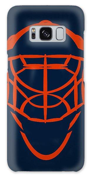 Islanders Galaxy Case - New York Islanders Goalie Mask by Joe Hamilton