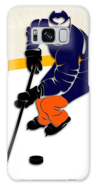 Islanders Galaxy Case - New York Islanders Rink by Joe Hamilton