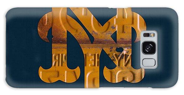 New York Mets Baseball Vintage Logo License Plate Art Galaxy Case