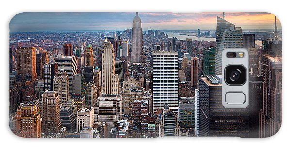 Center Galaxy Case - New York New York by Inge Johnsson