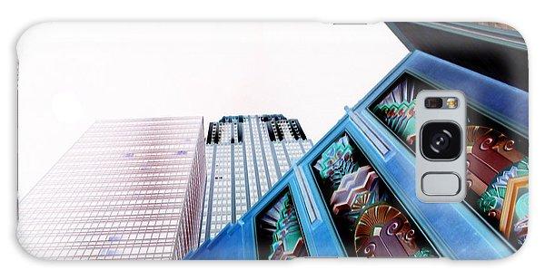 New York New York Galaxy Case by Joel Loftus
