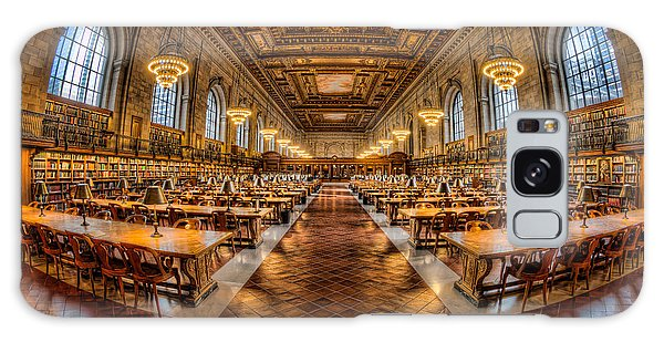 New York Public Library Main Reading Room Vii Galaxy Case by Clarence Holmes