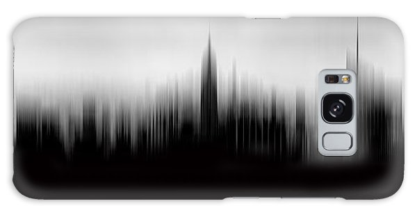 Empire State Building Galaxy S8 Case - New York Skyline Abstract by Az Jackson