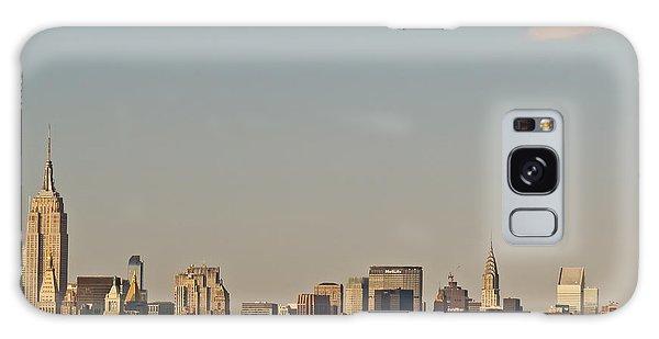 New York Skyline Galaxy Case by Kerri Farley