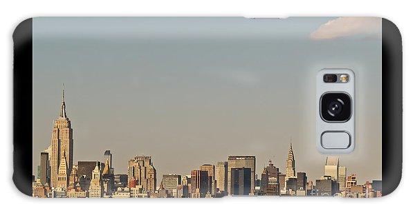 New York City Skyline Galaxy Case by Kerri Farley