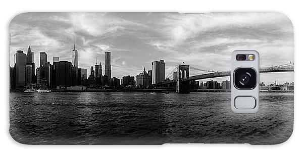 New York Skyline Galaxy Case by Nicklas Gustafsson