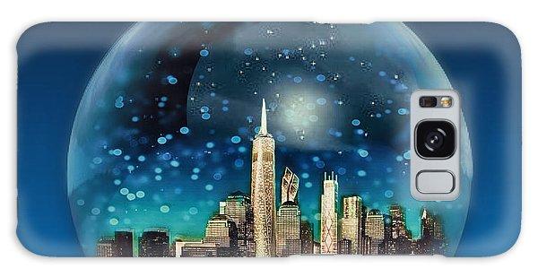 New York Snow Globe Galaxy Case