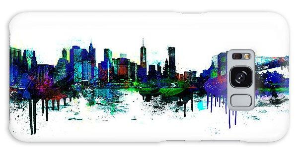 New York Spray Galaxy Case
