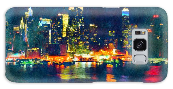 New York State Of Mind Abstract Realism Galaxy Case