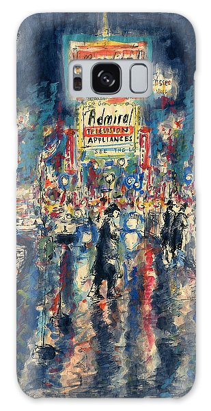 New York Times Square - Watercolor Galaxy Case