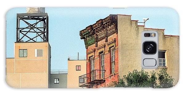 Galaxy Case featuring the photograph New York Water Tower 3 by Gary Heller