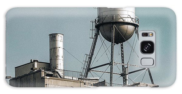 Galaxy Case featuring the photograph New York Water Towers 10 by Gary Heller