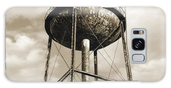Galaxy Case featuring the photograph New York Water Towers 11 - Greenpoint Brooklyn by Gary Heller
