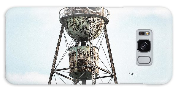 Galaxy Case featuring the photograph New York Water Towers 9 - Bed Stuy Brooklyn by Gary Heller