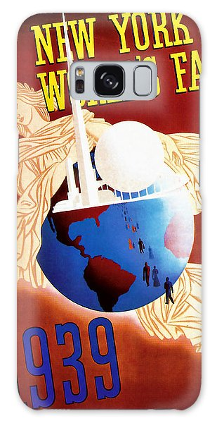 New York Worlds Fair 1939 Vintage Travel Art  Galaxy Case by Presented By American Classic Art